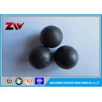 China Cement plant low chrome grinding cast iron balls for ball mill / Power Plant on sale