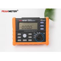 Multifunctional Earth Ground Resistance Tester 0 Ohm To 4K Ohm And 100 Groups Display Manufactures