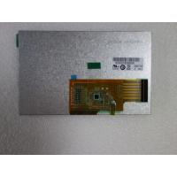 Quality TFT LCD G050VTN01.0 Auo Display Panel 5 Inch C/R 600/1 Resolution 800×480 for sale