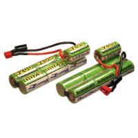 600mAh 8.4V NIMH Battery Packs , Air Soft Gun Battery With Capacity Manufactures
