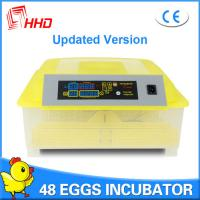 2016 hot sale CE approved full automatic mini egg incubator 48 chicken eggs YZ8-48 for sale