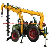 Customer design cement pole erection machine pole drilling machine Manufactures
