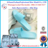 Factory New Mould Eva Injection Men Size Slippers, Leather Crystal Eva Mould Slipper molds Manufactures