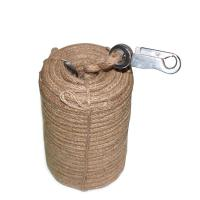 CCS Certificate Marine Fire Fighting Fireman Lifeline 30M Twine / Hemp With Hook Manufactures