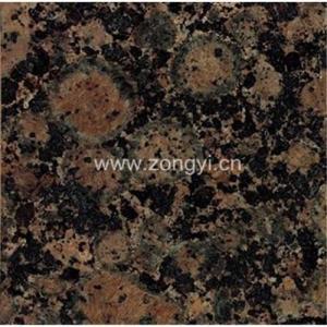 China Baltic Brown Granite tile & slab on sale