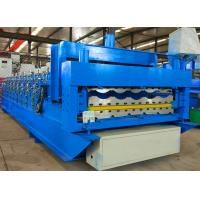 Automatic Roofing Sheet Roll Forming Machine Double Layer Corrugated For Building Manufactures