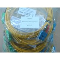 China SC / APC Connector Fiber Optic Patch Cable , SM Duplex 3.0mm LSZH Cable wholesale