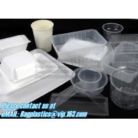 Airtight leakproof microwave custom rectangle plastic meal compartment bento lunch box food storage container with FOOD Manufactures