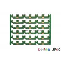 High Precision Multilayer PCB Manufacturing , Green PCB Board 0.4 Mm Aperture Manufactures