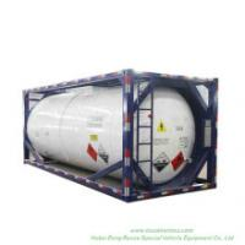 Trichlorosilane (SiHCl3) Isotank 20FT Tank Container Frame Trichlorosilane, Silicochloroform (Chemical Storage or Road Transport Tank)