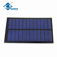China 0.65W 6V Epoxy Solar Panel Poly Silicon Solar Cell Phone Charger For Solar Power Novelties on sale