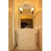 Villa Onyx Stone Wall / Wash Hands Basin , Resistance To Staining Manufactures