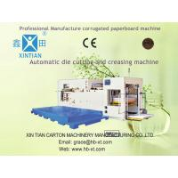 Rotary Die Cutting Automatic Cartoning Machine For Paperboard / Corrugated Paper Manufactures