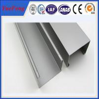 high quality industry aluminium profiles, 6063 t5 aluminum channel extrusion Manufactures
