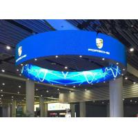 Round Flexible Curved LED Screen P2.5 mm 160000 dots/sqm For Entertainment Manufactures