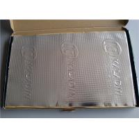 Quality Loudspeaker Thin Sound Deadening Pads / Panels 50 μm For Car Vibration Stopping for sale