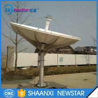3.7m c or ku band Rx/Tx ring focus earth station satellite communication antenna Manufactures