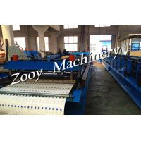 0.3mm - 0.8mm Forming Profile Roof Tile Forming Line Touch Screen Manufactures
