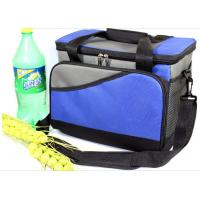 China Outdoor Polyester Fitness Travel Insulated Lunch Cooler Bag For Adults on sale