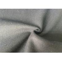 Skin Friendly Soft Melton Wool Fabric For Garment , Wool Coating Fabric Manufactures