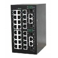 DIN Rail Gigabit Managed Industrial Ethernet Switch Manufactures