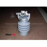 Vertical Type Line Post Insulator With Top Clamp Self Cleaning Manufactures