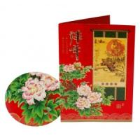 Custom New Year,Christmas gift Matte lamination/UV coating Paper Greetings Card Printers  Manufactures