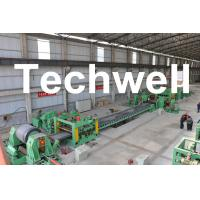 0.3 - 3.0mm / 0.5 - 3.0mm Steel Coil Cut To length Machine Line With Auto Stacker System Manufactures