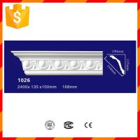 Quality High strength waterproof PU cornices for interior decorations for sale