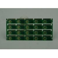 0.8mm Semi Holes Fr4 PCB Board Double Sided Immersion Gold Finish Manufactures