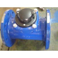 Dry Dial Horizontal Woltmann Water Meter DN40 - DN500 For Cold Water