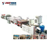 PP PE Plastic Corrugated Hollow Sheet Making Machine , Plastic Sheet Extrusion Line Manufactures