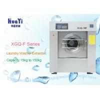 Water Saving 100kg Industrial Cloth Washing Machine Automatic Washer Extractor Manufactures