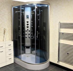 Offset Quadrant Steam Shower Enclosure Manufactures
