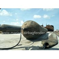 D1.5mxL16mx7 layers Marine Rubber Airbag For Ship Launching And Docking Manufactures
