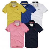 Abercrombie fitch hollister polo shirts ,100% cotton polo brand shirts Manufactures