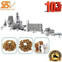 SLG 65-III Dry Dog Food Making Machine Twin Screw Extruder 500-600 Kg/h Manufactures