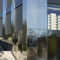 Quality Designed metal sheet wall cladding panel hammered decorative mirror stainless for sale