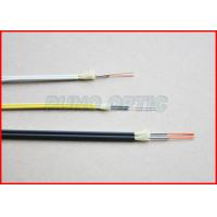 7.0mm 12 Cores Fiber Optical Armored Tube Cable Single Mode Blue Jacket Manufactures