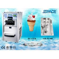 3 Flavors Table Top Commercial Ice Cream Machine With Air Pump Feed Feed Manufactures