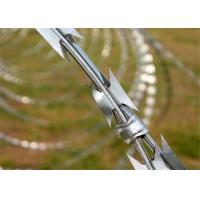 China Hot-Dipped galvanized razor barbed wire galvanized binding wire low carbon wire on sale