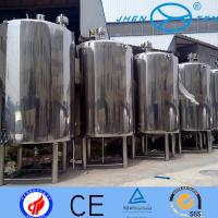Water Storage Containers Stainless Steel Storage Tank SS304 or SS316L Manufactures