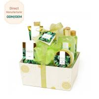 Quality Custom Pure Body Wash Gift Sets Green Apple Essential Oil Anti - Aging Feature for sale
