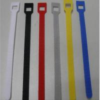 Heavy Duty Hook And Loop Fastener Straps Colorful Cable Management Manufactures