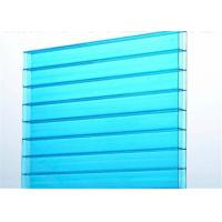 Fire Resistant Cellular Multiwall Polycarbonate Sheet For Greenhouse Roof Manufactures