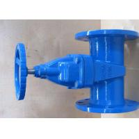 ISO5752 Ductile Iron Valves Resilient Seated Gate Valve With EPDM / NBR Disc Manufactures