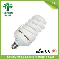 B22 Full Spiral Mixed Tricolor Energy Saving Light Bulbs / Electric Power Saving Equipment Manufactures