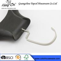 Black ABS Plastic Modern Clothes Hangers / Coat Hangers For Skirts