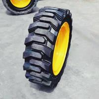Solid Rubber Tires Forklift Truck Parts 1450mm Overall Diameter Good Running Stability Manufactures