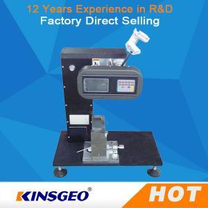 China Charpy Izod Imapct Rubber Testing Machine / Melt Flow Index Units ISO179-2000 on sale